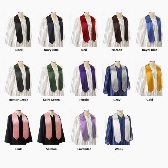 premium selection db917 53dfb Plain Satin Stole (60 & 72 Inch)