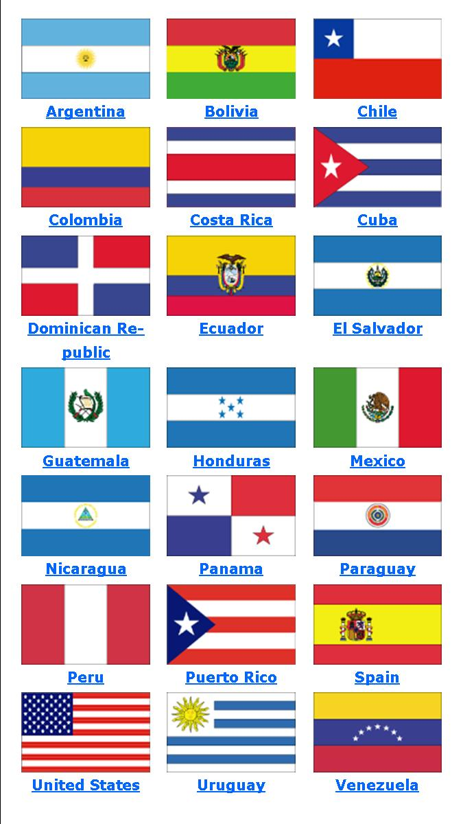 non personalized hispanic flags stoles